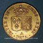 Monnaies Louis XVI (1774-1793). Double louis d'or au buste nu 1792 A. 1er semestre