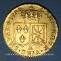 Monnaies Louis XVI (1774-1793). Louis d'or au buste nu 1786 A. 2e semestre