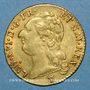 Monnaies Louis XVI (1774-1793). Louis d'or au buste nu 1786 I. Limoges. 2e semestre