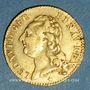 Monnaies Louis XVI (1774-1793). Louis d'or au buste nu 1786 W. Lille