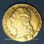 Monnaies Louis XVI (1774-1793). Louis d'or au buste nu 1786A. 2e semestre