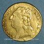 Monnaies Louis XVI (1774-1793). Louis d'or au buste nu 1786I. Limoges. 1er semestre