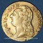 Monnaies Louis XVI (1774-1793). Louis d'or au buste nu 1787 I. Limoges. 2e semestre