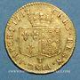 Monnaies Louis XVI (1774-1793). Louis d'or au buste nu 1787 T. Nantes