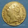 Monnaies Louis XVI (1774-1793). Louis d'or au buste nu 1787T. Nantes