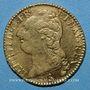 Monnaies Louis XVI (1774-1793). Louis d'or au buste nu 1788 A. 1er semestre