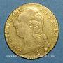 Monnaies Louis XVI (1774-1793). Louis d'or au buste nu 1788 A. 1er semestre.