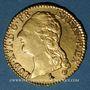 Monnaies Louis XVI (1774-1793). Louis d'or au buste nu 1788A. 1er semestre