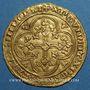 Monnaies Philippe VI de Valois (1328-1350). Ecu d'or à la chaise, 1ère émission (1er janvier 1337)