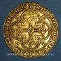 Monnaies Philippe VI de Valois (1328-1350). Ecu d'or à la chaise. 1ère émission (1er janvier 1337)