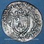 Monnaies François I (1515-1547). Douzain à la croisette, pièce de faux-monnayeur