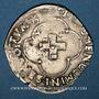Monnaies François I (1515-1547). Douzain à la croisette. Turin (à partir de 1541)