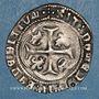 Monnaies François I (1515-1547). Grand blanc à la couronne, 1er type (23 janvier 1515). Marseille (écu)