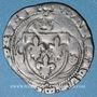 Monnaies François I (1515-1547). Grand blanc à la couronne, 1er type