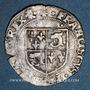 Monnaies François I (1515-1547). Grand blanc du Dauphiné, 3e type. Romans
