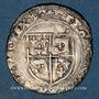 Monnaies François I (1515-1547). Grand blanc du Dauphiné, 7e type var. Romans (R couronné et point 2e)
