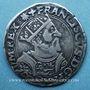 Monnaies François I (1515-1547). Teston, 25e type. Toulouse (M et annelet 5e), 35 802 ex !