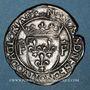 Monnaies François I (1515-1547). Teston (cf 13e type). Lyon (annelet 12e). Type inédit !