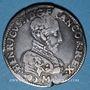 Monnaies François II (1559-1560). Monnayage au nom d'Henri II. Teston, 2e type. 1559 K. Bordeaux