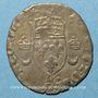 Monnaies Henri II (1547-1559). Douzain aux croissants 1550 D. Lyon