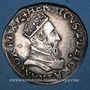 Monnaies Henri II (1547-1559). Teston, 1er type, 1552 D. Lyon