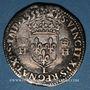 Monnaies Henri II (1547-1559). Teston, 1er type, 1552 L. Bayonne
