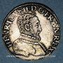 Monnaies Henri II (1547-1559). Teston, 2e type, 1554 G. Poitiers