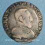 Monnaies Henri II (1547-1559). Teston 2e type 1555 L. Bayonne