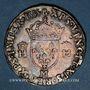 Monnaies Henri II (1547-1559). Teston, 2e type, 1555 M. Toulouse