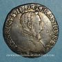 Monnaies Henri II (1547-1559). Teston 2e type 1556 I. Limoges