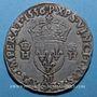 Monnaies Henri II (1547-1559). Teston, 2e type, 1556 M. Toulouse