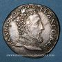 Monnaies Henri II (1547-1559). Teston, 2e type, 1557 M. Toulouse