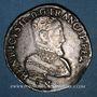 Monnaies Henri II (1547-1559). Teston, 2e type, 1558L. Bayonne