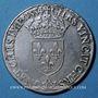 Monnaies Henri II (1547-1559). Teston frappé au moulin de Paris, 4e type, 1554 A