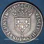 Monnaies Henri II (1547-1559). Teston frappé au moulin de Paris, 4e type, 1557 A