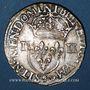 Monnaies Henri III (1574-1589). 1/4 écu 1579. Rennes