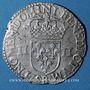 Monnaies Henri III (1574-1589). 1/4 écu 1587 B. Rouen