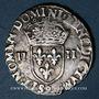 Monnaies Henri III (1574-1589). 1/4 écu 1587. Rennes