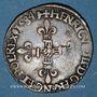 Monnaies Henri III (1574-1589). 1/8 d'écu 1584 H. La Rochelle