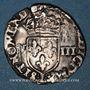 Monnaies Henri III (1574-1589). 1/8 d'écu. Bayonne