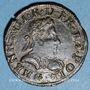 Monnaies Henri III (1574-1589). Double tournois 1586 G. Poitiers