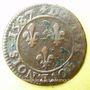 Monnaies Henri III (1574-1589). Double tournois 1587 A