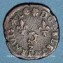 Monnaies Henri III (1574-1589). Double tournois du Dauphiné, 1578Z. Grenoble