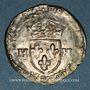 Monnaies Henri III (1574-1589). Douzain, 1er type, 1576 (atelier non lisible)
