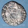 Monnaies Henri III (1574-1589). Liard à l'H 1579 &. Aix