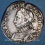Monnaies Henri III (1574-1589). Monnayage au nom de Charles IX. Teston, 8e type, 1575 M. Toulouse