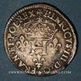 Monnaies Henri III (1575-1589). Double sol parisis, 2e type, 1578 M. Toulouse