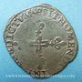 Monnaies Henri III (1575-1589). Double sol parisis, 2e type, 158(5?) &. Aix