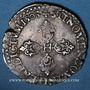 Monnaies Henri IV (1589-1610). 1/2 franc 1603 B. Rouen.