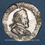 Monnaies Henri IV (1589-1610). 1/2 franc 1604 B. Rouen